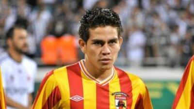 Rodolfo Zelaya. (Cortesía Alania FC)