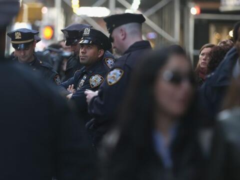 Elementos de seguridad de Estados Unidos, se movilizaron en distintas pa...