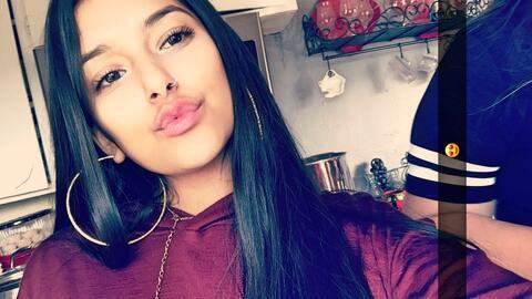 Karla Romero, de 14 años de edad.