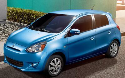 Peor sub-compacto: Mitsubishi Mirage. Según Consumers Report el p...