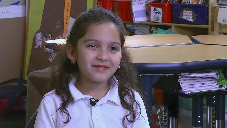 Avances y dificultades de Arlette Espaillat, la niña dominicana en EEUU...