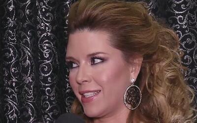Alicia Machado habló de la salida de Alina Robert