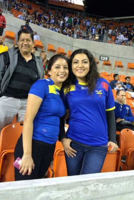 Ecuador vs. Honduras en Houston