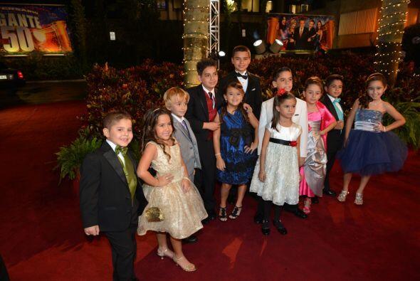 Los pequeñitos que han participado en el programa de Sábad...