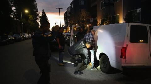 ICE detuvo a 112 personas en el sur de California.