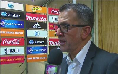 """Juan Carlos Osorio: """"El equipo hizo en la cancha lo que trabajamos en la..."""