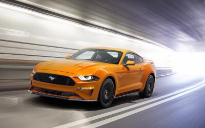 Ximena Hernández New-Ford-Mustang-V8-GT-with-Performace-Pack-in-Orange-F...