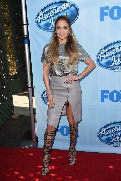 En la presentación de los American Idol hizo tremenda combinaci&o...
