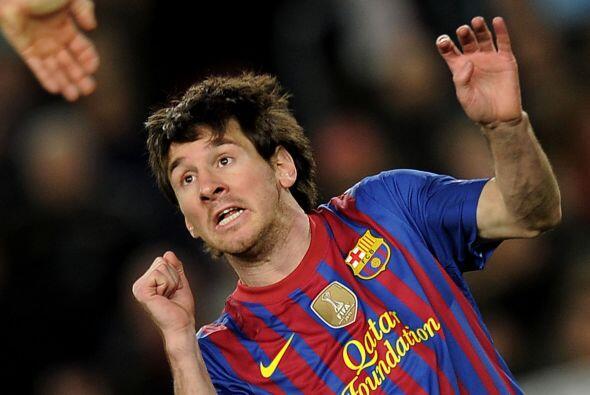 Barça 7, Bayer 0. El séptimo del Barça. Quinto gol para Lionel Messi. Lo...