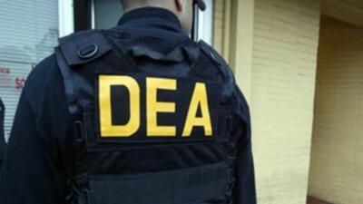 Imagen tomada de Twitter de un agente de la DEA.