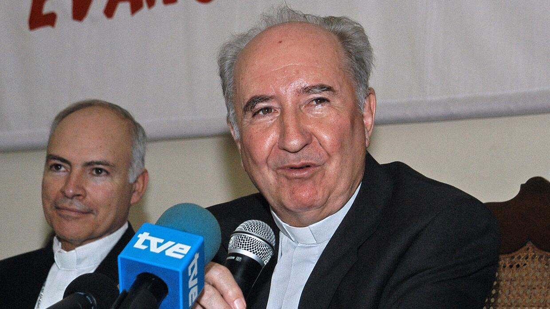 El cardenal chileno Francisco Javier Errázuriz