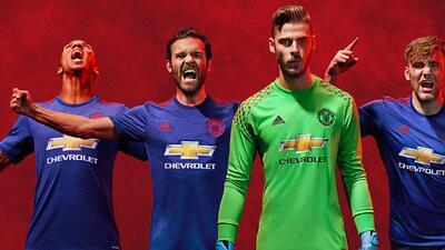 Jersey de visitante del Manchester United 2016-17