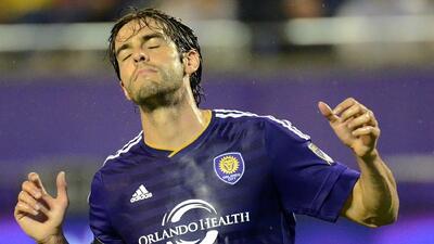 Kaká se lamenta de una chance, Orlando City