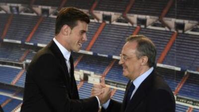 Gareth Bale fue presentado con Real Madrid