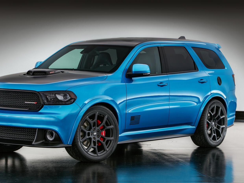 La Dodge Durango Shaker es otra de las atracciones de Mopar en SEMA, lo...