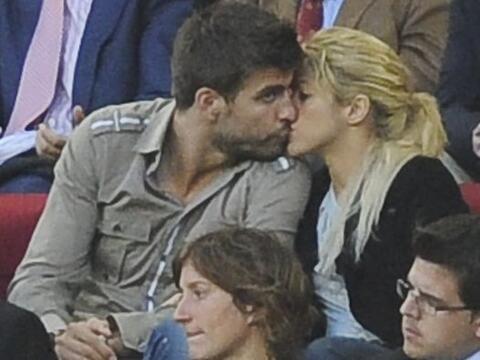 La pareja más famosa del momento, la cantente Shakira y el futbol...