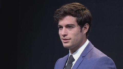 Danilo Carrera le ganó el papel a un gran actor para su primer protagónico