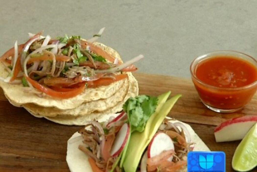 De herencia europea, pero de origen mexicano está el salpicón, un plato...