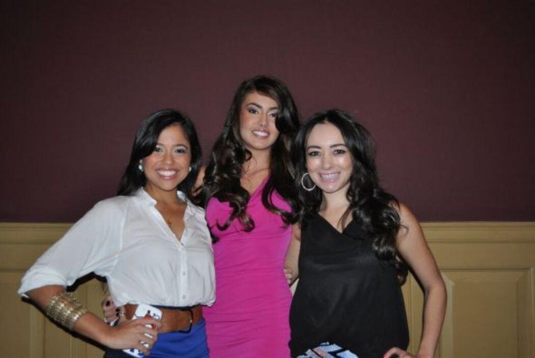Nataliz, Vanessa y Fanny protagonizaron la sexta temporada de Nuestra Be...