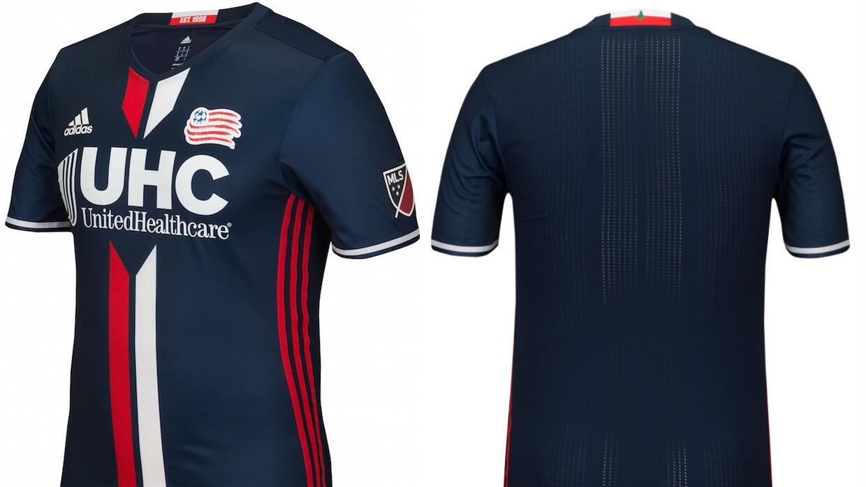 New England Revolution kit 2016