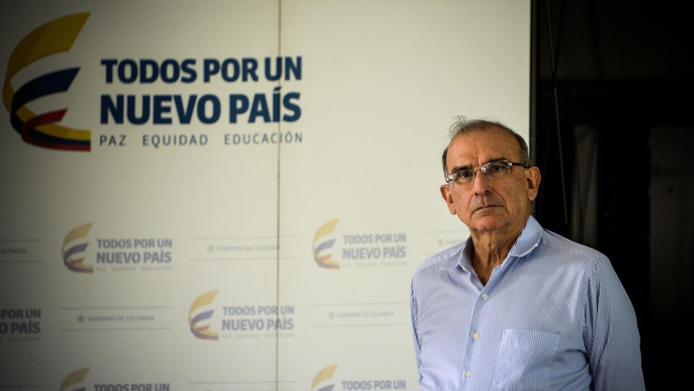 Humberto de la Calle, jefe de la delegación del gobierno de Colombia.
