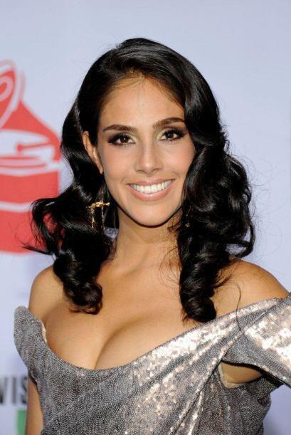 La guapa Sandra Echeverría en 2011 dejó a todos con la boca abierta.