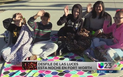 Desfile de las luces en Fort Worth
