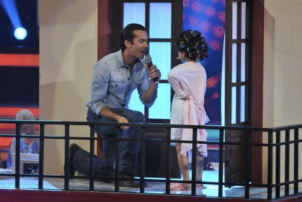 El actor mostró que también le hace a la cantada