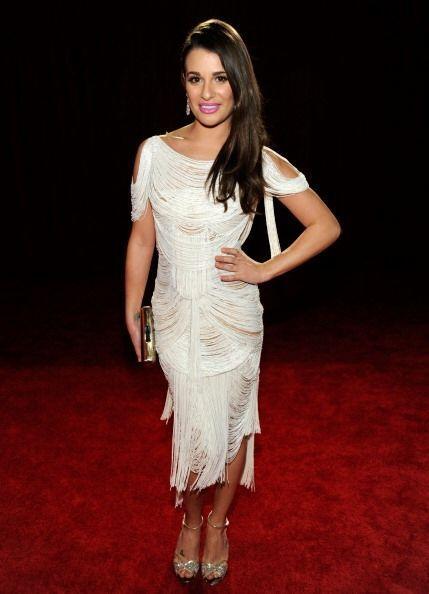¡Al parecer a Lea Michele se le hizo tarde para acudir a estos pre...