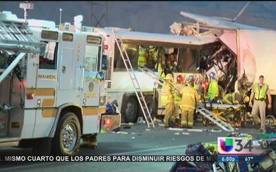 Chofer de autobús siniestrado tenía demandas por negligencia en choques