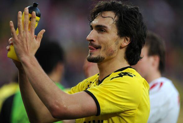 Al defensa de Dortmund, Mats Hummels, sólo le faltaron las castañuelas p...
