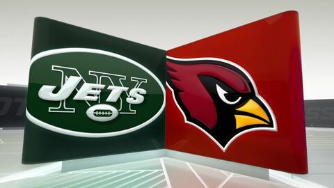 Cardinals arrolló a Jets 28-3