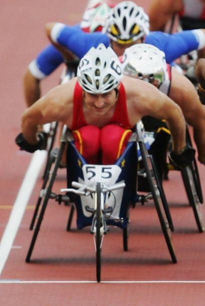 El español Roger Puigbo es uno de los atletas paralímpicos...