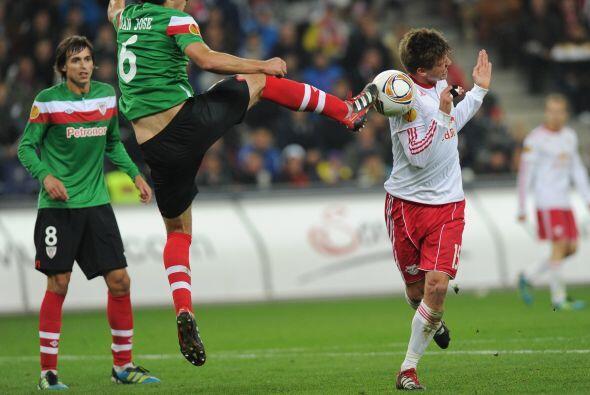 Otro equipo español, el Athletic de Bilbao, visitaba al Salzburgo.