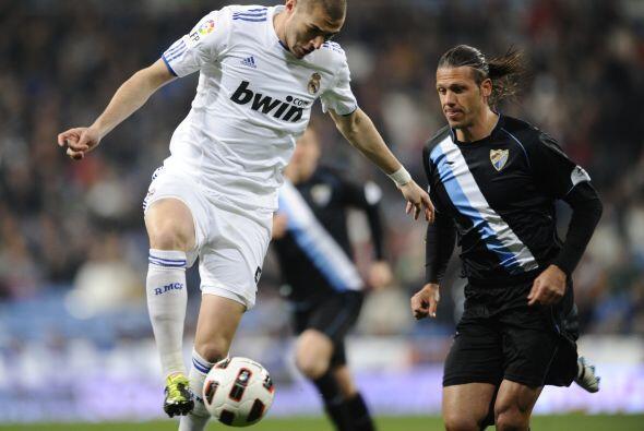 Así fue en su duelo ante el Málaga, que visitaba el Santia...