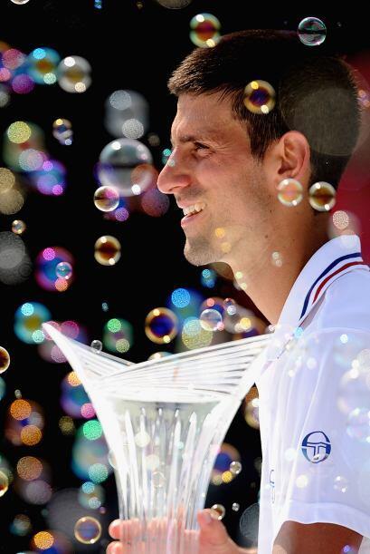 Con este título, Djokovic acumula 30 torneos ATP.
