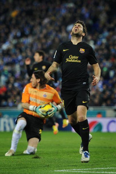 Se quedaron a muy poco de empatar, con un penalti que no se marcó...