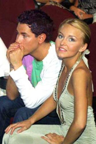 Así se veía la joven actriz en 2006 cuando asistió a la ceremonia junto...