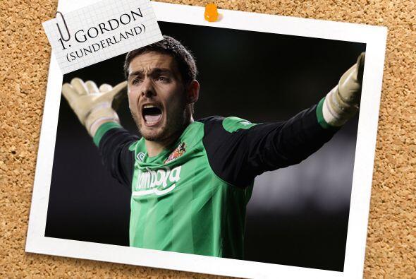 El mejor arquero fue Craig Gordon, cancerbero del Sunderland, a quien se...