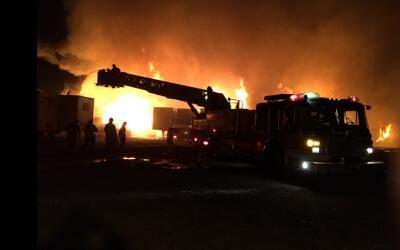 Incendio en La Villita