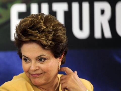 La presidenta de Brasil, Dilma Rousseff, lleva cien días en el poder. Ha...