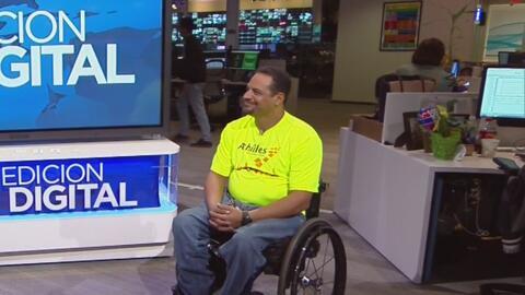 Rafael Martínez, el maratonista que venció las dificultades físicas y se...