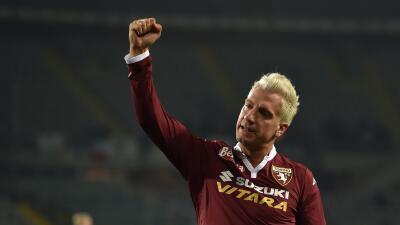 Maxi López, jugador del Torino