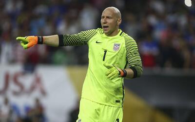 Guzan fue titular en Estados Unidos durante la Copa América Cente...