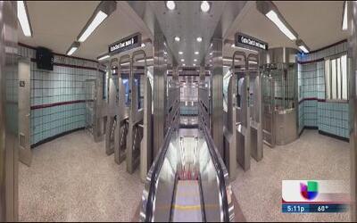 Reinaugurán estación de línea roja de la CTA