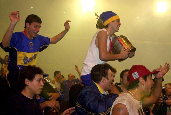 La Copa Libertadores le sirvió a Riquelme y al Boca Juniors como...
