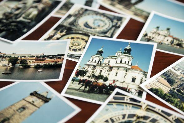 3. Colección de recuerdos. Acumula miles de fotos en su móvil, pero jamá...