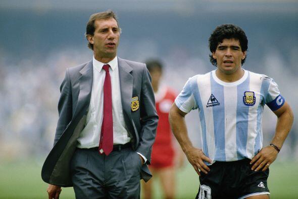 Fue en México 86 cuando Bilardo y Maradona guiaron a Argentina a su segu...