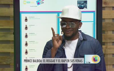 Prince Balboa habla de la fusión entre reggae y rap