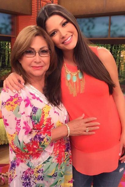 'Con mamá. Juego...encuentren a Honey', dijo Ana. (Abril 3, 2015)